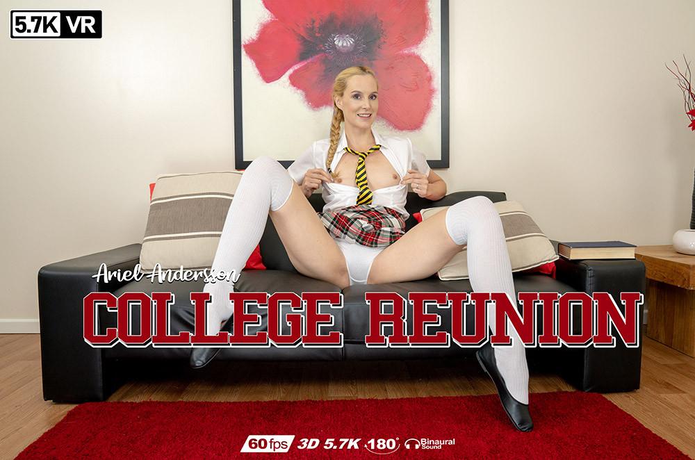 College Reunion, Ariel Andersson, Aug 23, 2019, 3d vr porno, HQ 2880