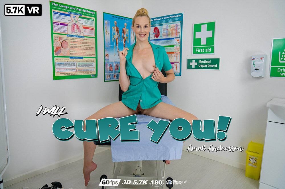 I Will Cure You, Ariel Andersson, Sep 02, 2019, 3d vr porno, HQ 2880
