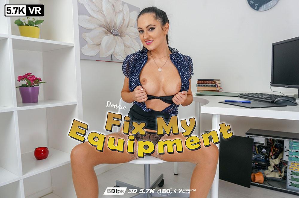 Fix My Equipment, Bonnie, Apr 07, 2019, 3d vr porno, HQ 2880