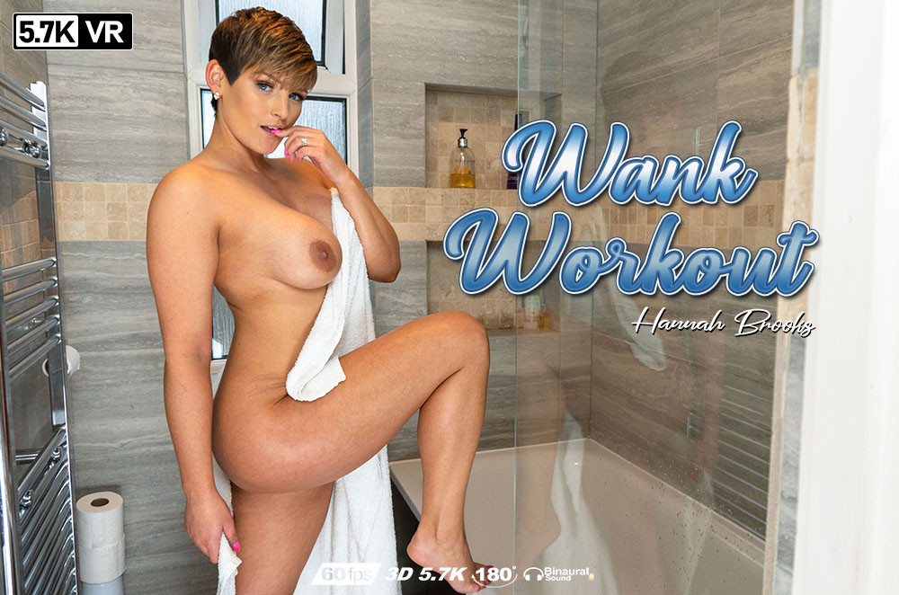 Wank Workout, Hannah Brooks, Apr 18, 2019, 3d vr porno, HQ 2880
