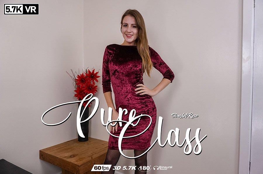 Pure Class, Scarlot Rose, Oct 8, 2018, 3d vr porno, HQ 2880