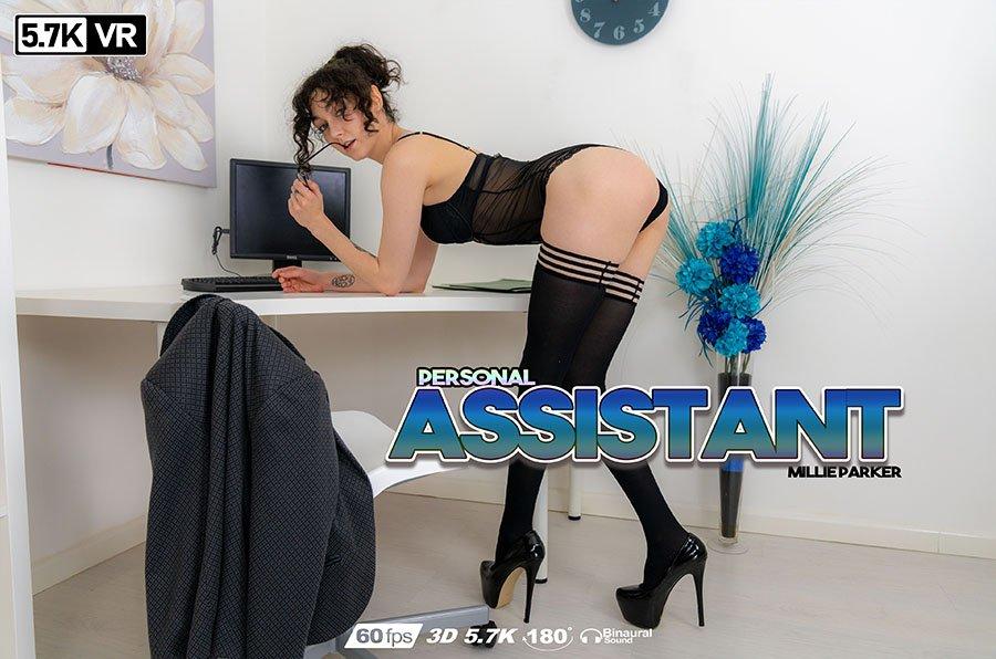 Personal Assistant, Millie Parker, Nov 11, 2018, 3d vr porno, HQ 2880