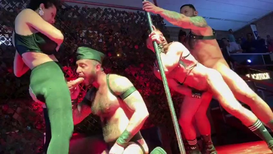 RawFuckClub - Viktor Rom, FFurryStud - Sex Show at Salon Erotico Barcelona