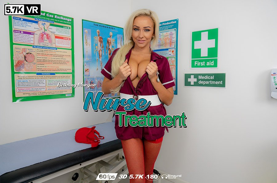 Nurse Treatment, Bethany Morgan, Jan 20, 2019, 3d vr porno, HQ 2880