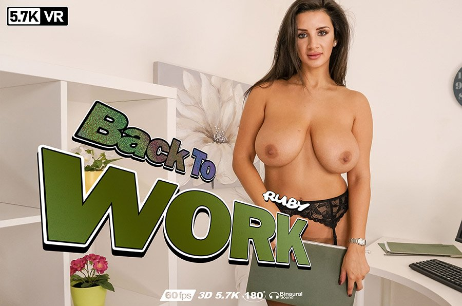 Back To Work, Ruby, Jan 14, 2019, 3d vr porno, HQ 2880