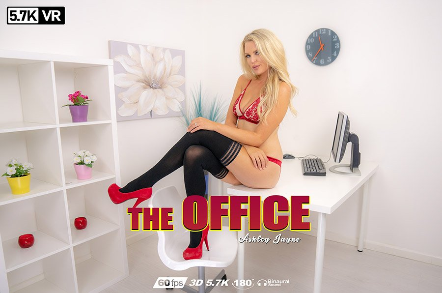The Office, Ashley Jayne, Feb 7, 2019, 3d vr porno, HQ 2880