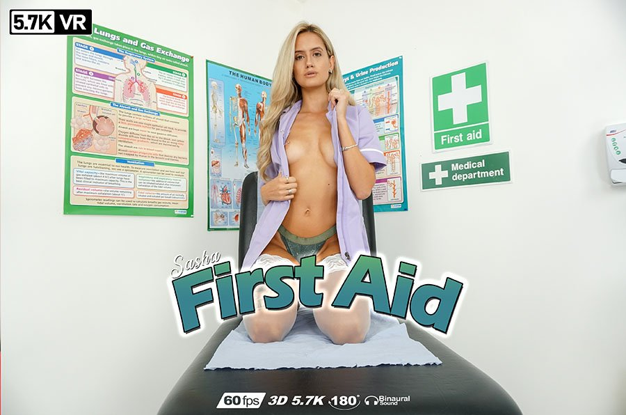 First Aid, Sasha, Mar 7, 2019, 3d vr porno, HQ 2880