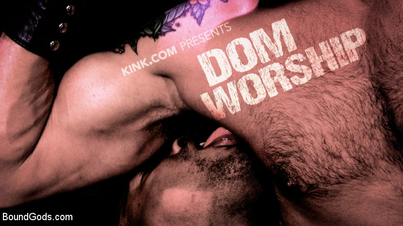 BoundGods - Dom Worship - Newcomer Adrian Hart Services Muscle God Dominic Pacifico