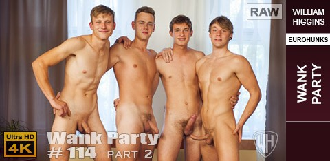 WilliamHiggins - Wank Party #114, Part 2 RAW