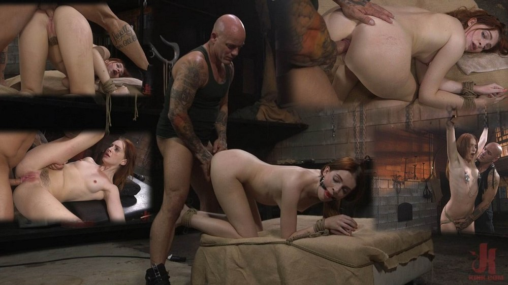 BrutalSessions / Kink - Maya Kendrick - Maya Kendrick gets her whore holes fucked and flogged in bondage