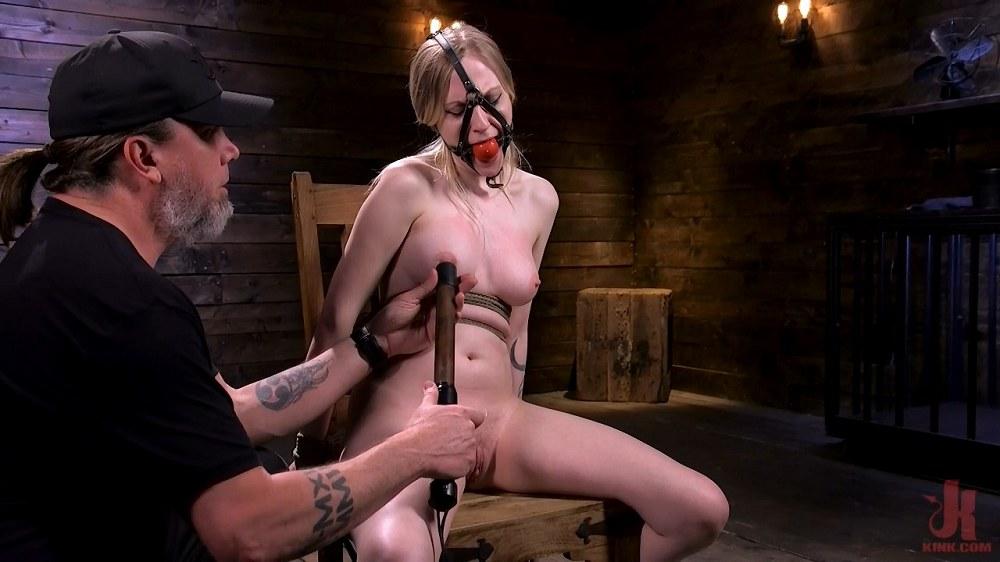 Hogtied / Kink - Violet October - Sassy Pain Slut Gets Tormented in Bondage