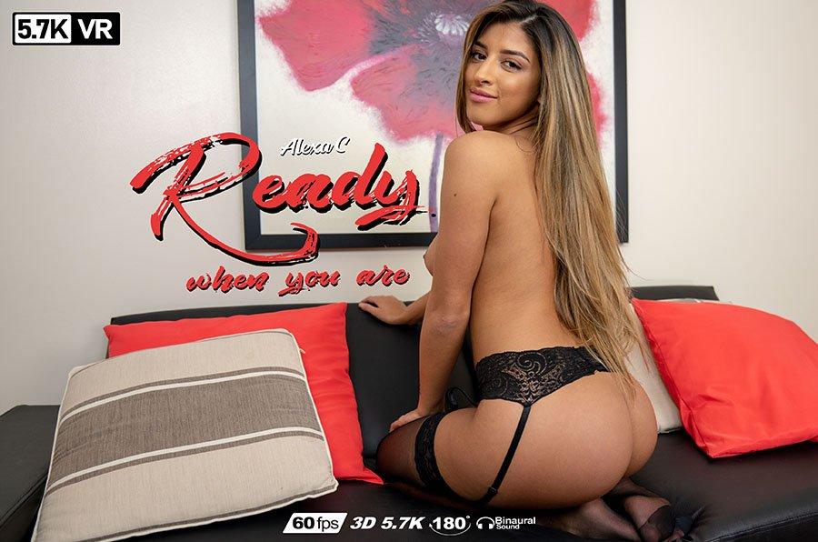 Ready When You Are, Alexa Campbell, Apr 6, 2019, 3d vr porno, HQ 2880