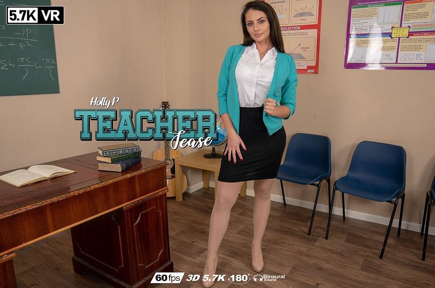 Teacher Tease, Holly P, Apr 26, 2019, 3d vr porno, HQ 2880
