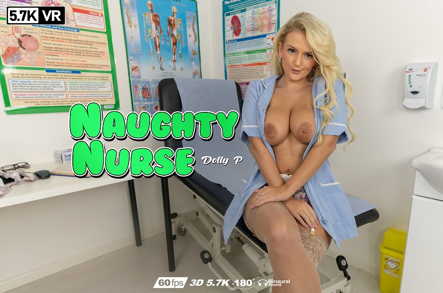 Naughty Nurse, Dolly P, May 8, 2019, 3d vr porno, HQ 2880