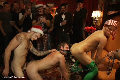 BoundInPublic - Live Shoot - It's the best Xmas Party ever!!! 17077