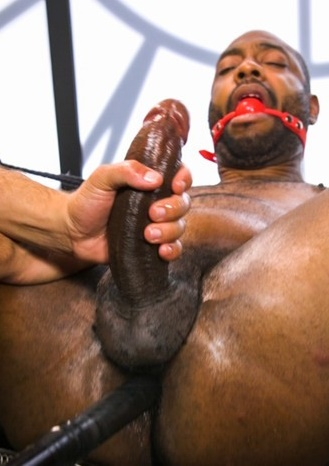 MenOnEdge - Nightstick - Thick Uncut Rookie Cop Gets Fucked With His Own Stick