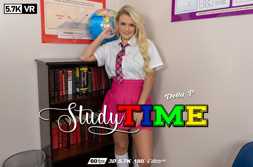 Study Time, Dolly P, May 26, 2019, 3d vr porno, HQ 2880