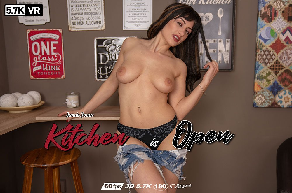 Kitchen is Open, Jamie Jones, Jun 7, 2019, 3d vr porno, HQ 2880