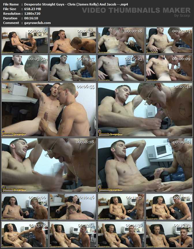 Desperate Straight Guys - Chris (James Kelly) And Jacob