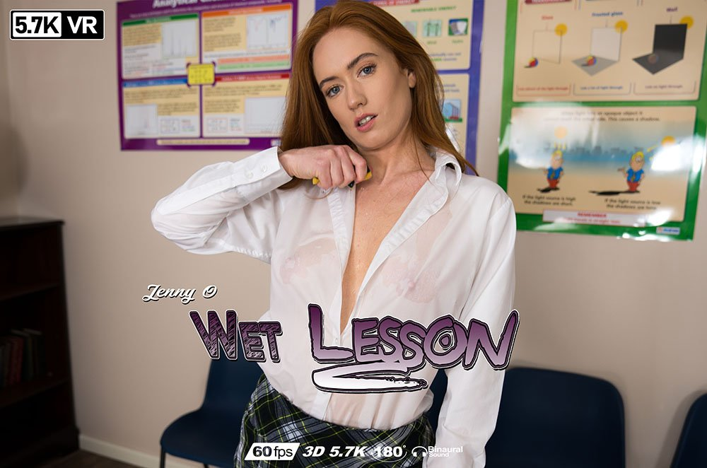 Wet Lessons, Jenny O'Sullivan, Sep 11, 2019, 3d vr porno, HQ 2880