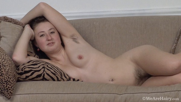 Megan - Brown Couch Tiger Pillow (HD 720p)
