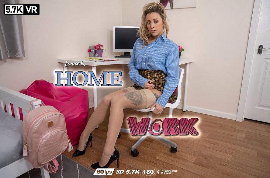 Home Work, Louise K, Nov 20, 2019, 3d vr porno, HQ 2880