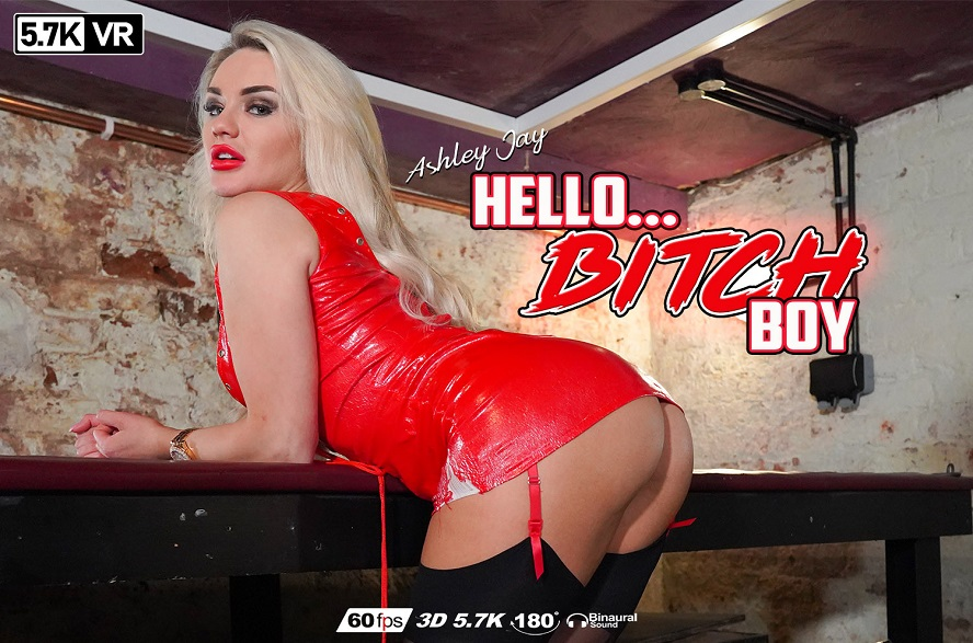 Hello... Bitch Boy, Ashley Jay, Sep 20, 2019, 3d vr porno, HQ 2880