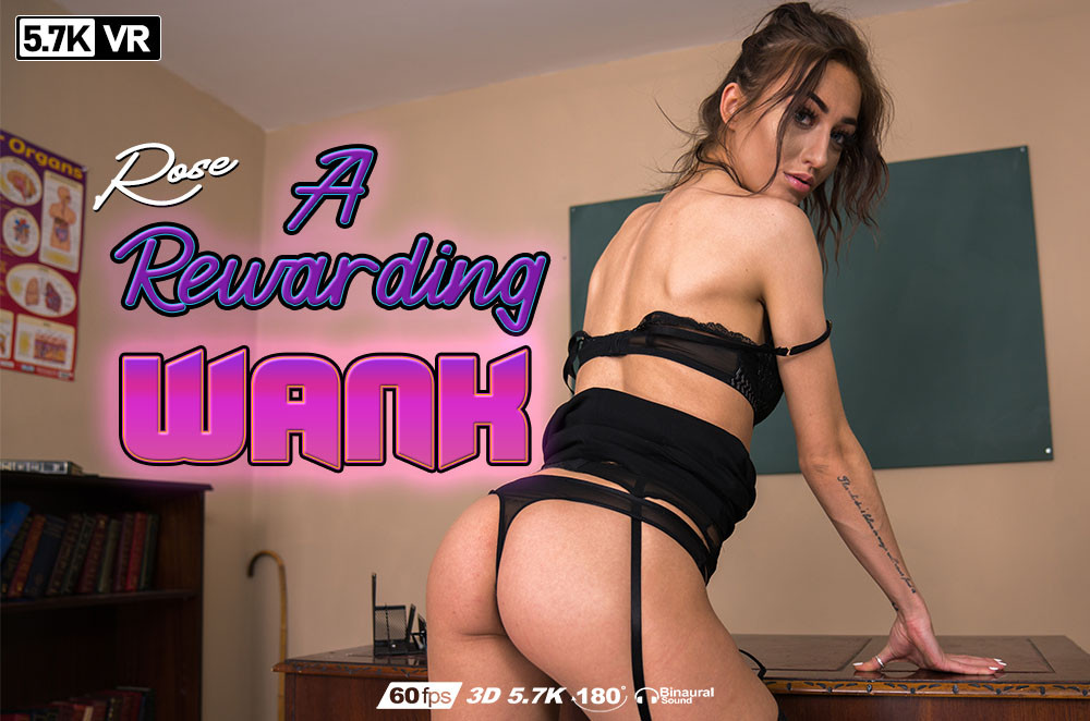 A Rewarding Wank, Rose, Sep 8, 2019, 3d vr porno, HQ 2880