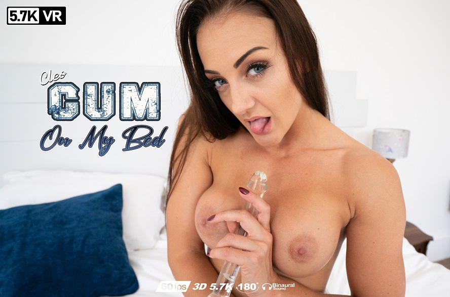 Cum On My Bed, Cleo Summers, Oct 14, 2019, 3d vr porno, HQ 2880