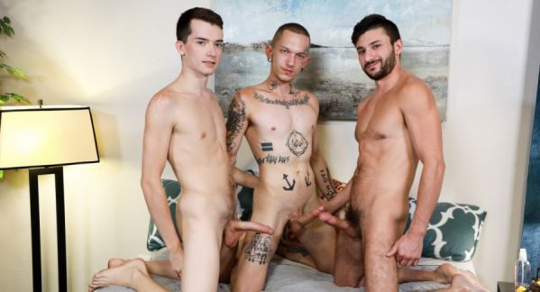 ExtraBigDicks - Scott DeMarco, Dexx, Alex Meyer - 24+ Inches of Cock!