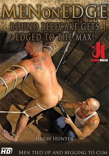 MenOnEdge - Bound Beefcake Gets Edged to the Max