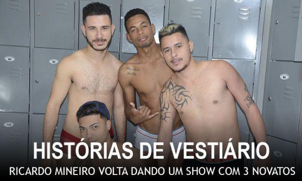 MundoMais - Ricardo Mineiro, Dandan, Igor Felipe, Klaus Maldonato - Historias de Vestiario 2