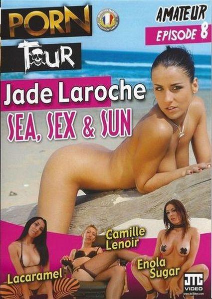 Porn Tour 8 (Jade Laroche) Sea, Sex and Sun