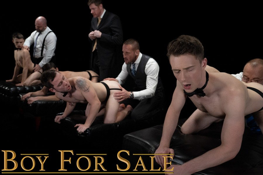 Bromo  - BoyForSale - Group Auction Orgy