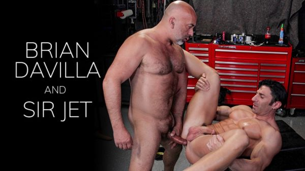 BarebackThatHole - The Meeting Point - Brian Davilla and Sir Jet