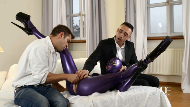 Latex Spanking Therapy, Part 1 - Latex Lucy