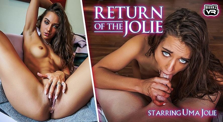Return of the Jolie, Uma Jolie, 18 July, 2019, 3d vr porno, HQ 2300