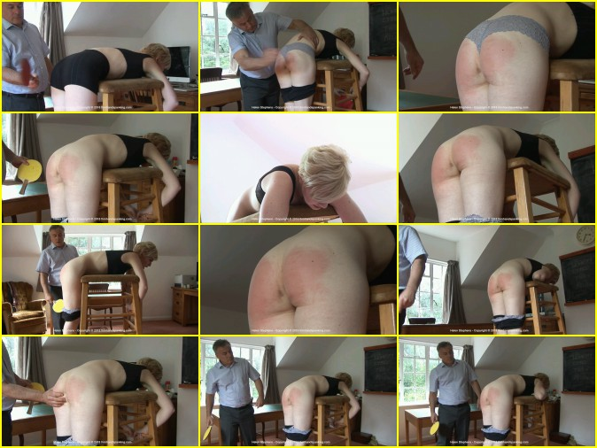 Sassy Helen Stephens Spanked With Ping Pong Paddle - HD 1280x720 Video