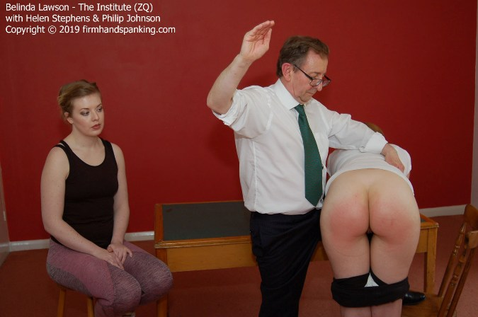 Belinda Lawson Is Soundly Spanked For Science - HD 1280x720 Video - FirmHandSpanking