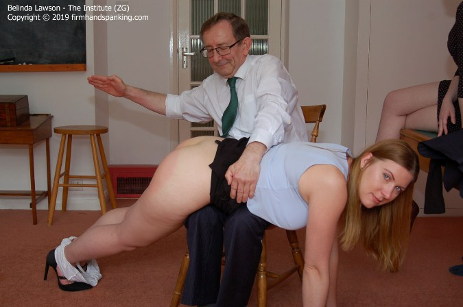 Back Over The Knee For A High-Intensity, Fast Spanking - HD 1280x720 Video