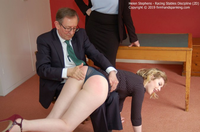 Helen Stephens Signs Up For More Bare Bottom Spanking - HD 1280x720 Video