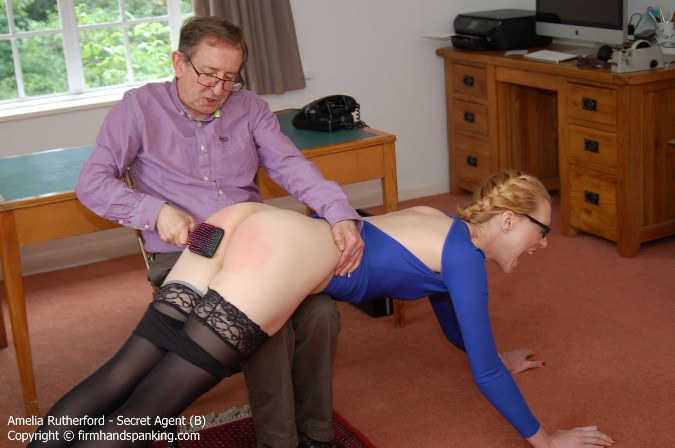 Sound Bare Bottom Over-The-Knee Spanking - HD 1280x720 Video