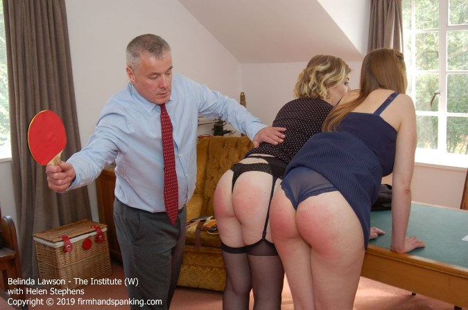 Belinda Lawson Spanked Bare Bottom With Ping Pong Paddle - HD 1280x720 Video