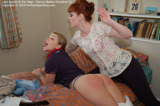 Super-Hard Bare Bottom Spanking On Her Day Off - HD 1280x720 Video