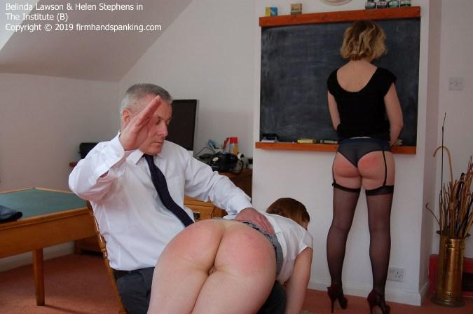 Bare Bottom Spanking To Remember - Belinda Lawson, Helen Stephens - HD 1280x720 Video