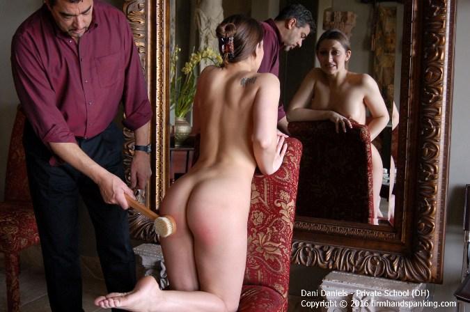 Totally Nude Dani Daniels Spanked To Dramatic Tears - HD 1280x720 Video