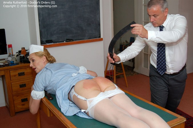 Nurse Amelia Rutherford Gets A Taste For Discipline - HD 1280x720 Video
