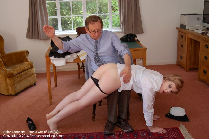 Helen Stephens On Receiving End Of Resounding Spanking - HD 1280x720 Video