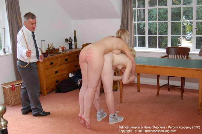 Cane For Belinda, Held Totally Nude On Helens Back - HD 1280x720 Video