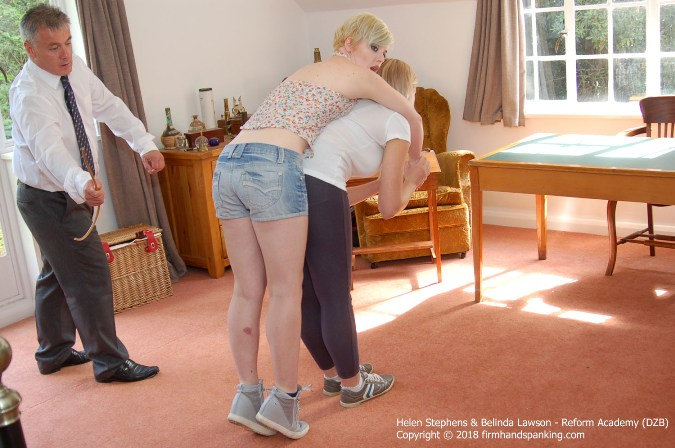 Six Of The Best With A Springy Cane For Helen Stephens - HD 1280x720 Video